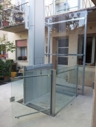 Toplevel - Platform Lift for applications up to one floor - TESIS ENGINEERING